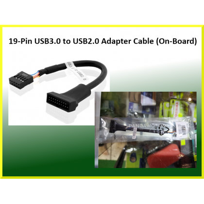 19-Pin USB3.0 to USB2.0 Adapter Cable (On-Board)