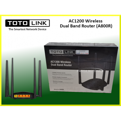 Totolink AC1200 Wireless Dual Band Router (A800R)