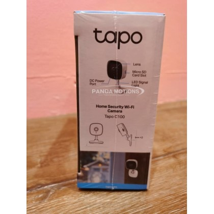 TP-LINK Tapo C100 1080p Home Security Wi-Fi Camera