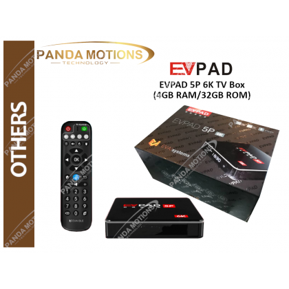 EVPAD 5P 6K TV Box (4GB RAM/32GB ROM)