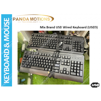 Mix Brand USB Wired Keyboard (USED)