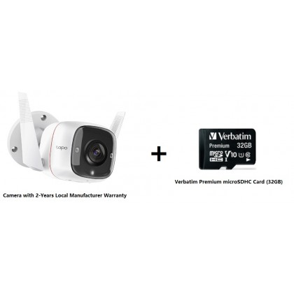TP-LINK Tapo C310 1080p Outdoor Security Wi-Fi Camera