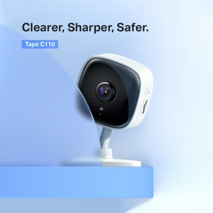 TP-Link Tapo C110 FHD 3MP Home Security Wi-Fi Camera